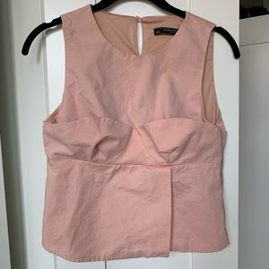 Zara// sleeveless blouse size medium